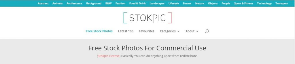 StokPic Stock Images Site