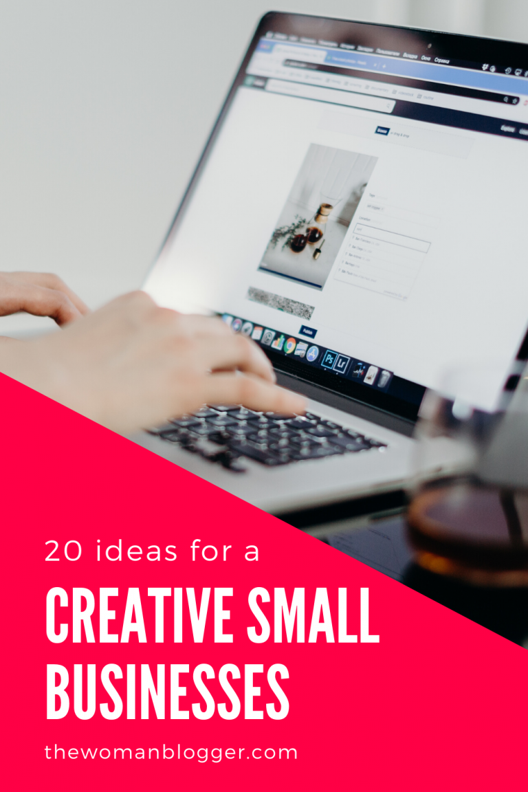20 Creative Small Business Ideas for Fempreneurs in 2021