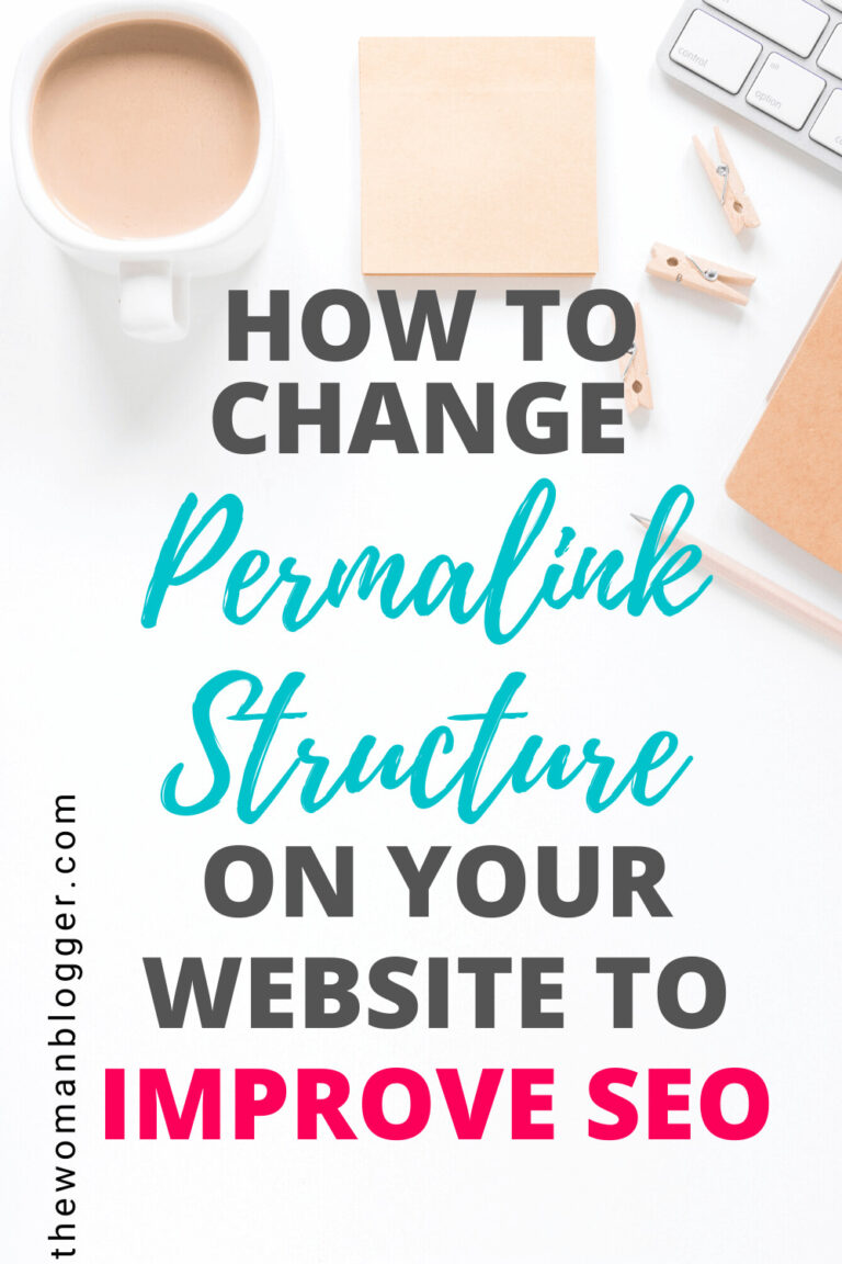 How to change Permalink Structure on WordPress to Improve SEO