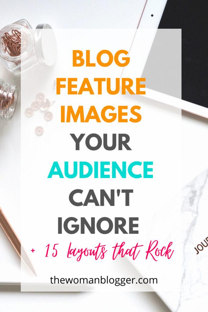 blog feature image design pin
