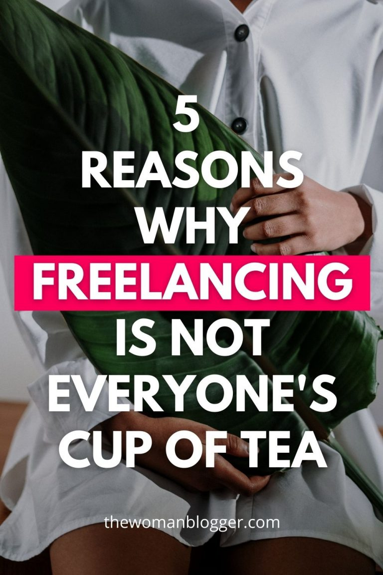 5 reasons why freelancing is not everyone's cup of tea